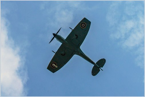 Spitfire, Aeroplane, War, Fighter, Vintage, Flying