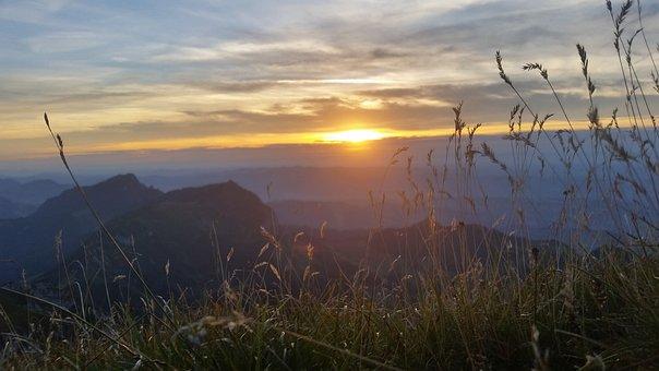 Sunset, Ram Box, Pilatus, Outdoor, Abendstimmung