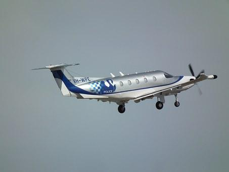 Pilatus, Pc12-47e, Wa Police, Aifcraft, Take Off