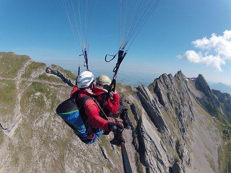 Paragliding, Tandem Flight, Volaris Paragliding