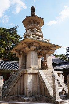 The Bulguksa Temple, Racing, Republic Of Korea