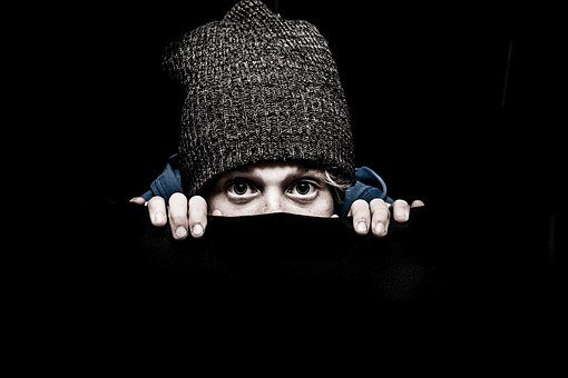 Pry, Crook, Tough, Shy, Child, Faces, Hat, Naughty, Boy