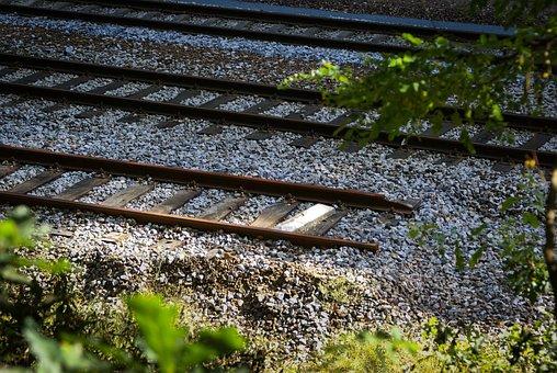 End, Rails, Train, Track, Accident, Train Track