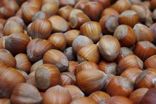 Hazelnuts, Nuts, Tree Fruit, Nut, Food, Shell, Market