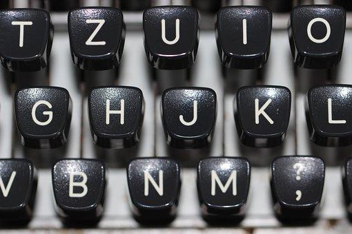Typewriter, Keyboard, Type, Vintage, Blog, News