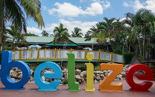 Sign, Belize, Vacation, Holiday, Travel, Caribbean