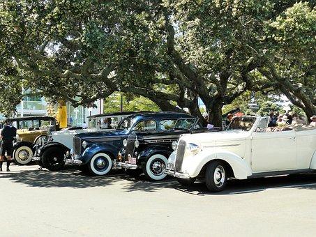 Classic, Cars, Deco, Vintage, Automobile, Old