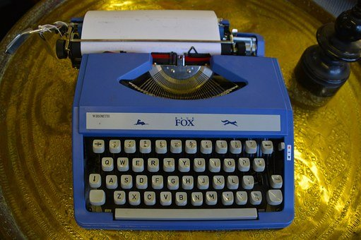 Typewriter, Keyboard, Old, Vintage, Retro, Antique