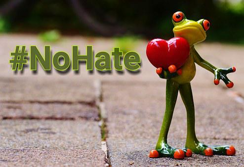 No Hate, Action, Against Cyberbullying, Hashtag