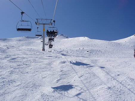 Blackcomb, Whistler, British Columbia, Chairlift
