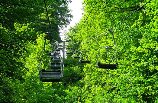 Lift, Chairlift, Mountain Railway, Cable Car, Alpine