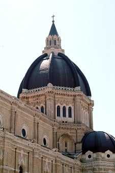 Cerignola, Church, Cathedral, Monument, Dome, Roof