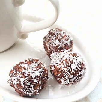 Chocolate Balls, Coffee Break, Chocolate, Coffee Mug