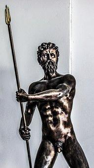 Cyprus, Ayia Napa, Thalassa Museum, Poseidon