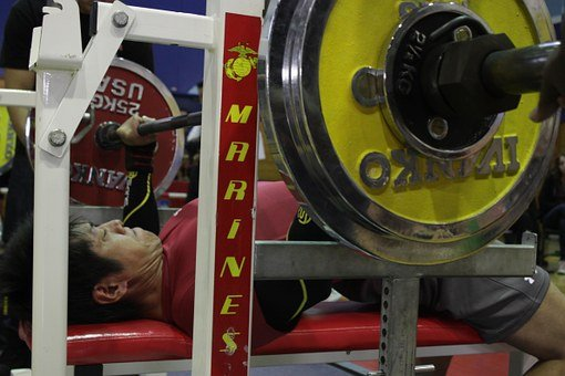 Man, Bench Press, Weight, Weights, Workout, Exercise
