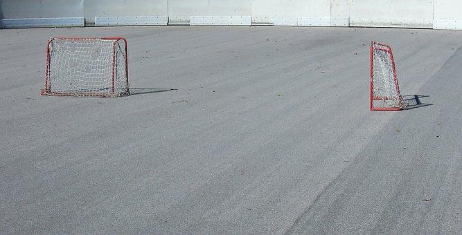 Space, Gates, Hockey, Hockey Rink, Airhockeyspiel