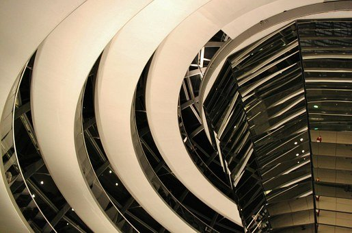 Reichstag, Berlin, Government, Glass Dome, Building