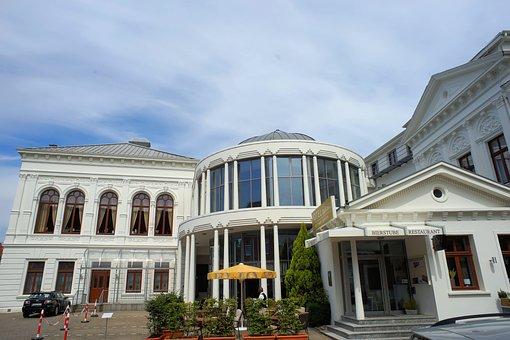 Hotel, Dome, Restaurant, Aurich, Port City, East Frisia