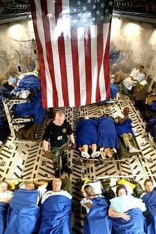 Aircraft, Plane, Air Force, Hurricane Katrina Victims
