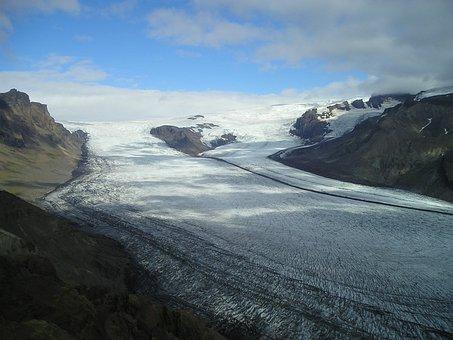 Glacier, Ice, Ice Sheet, Icecap, Iceland