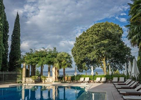 Lake Garda, Villa, Cortine, Swimming Pool, Italy
