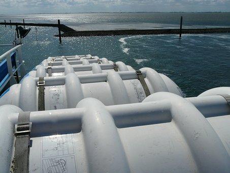 Liferafts, Life Raft, Boat Trip, Lifeboats, Encapsulate