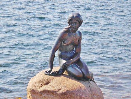 Little Mermaid, Sculpture, Historically
