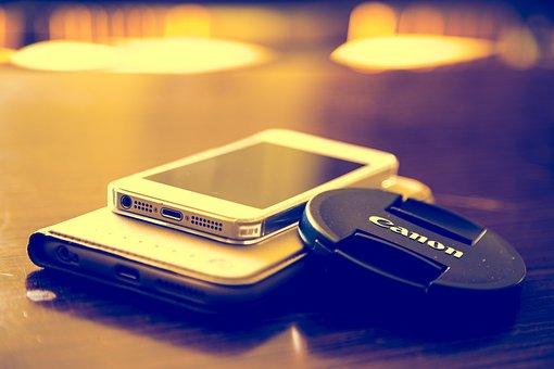 Iphone, Canon, Mobile, Beautiful, Tone, Collocation