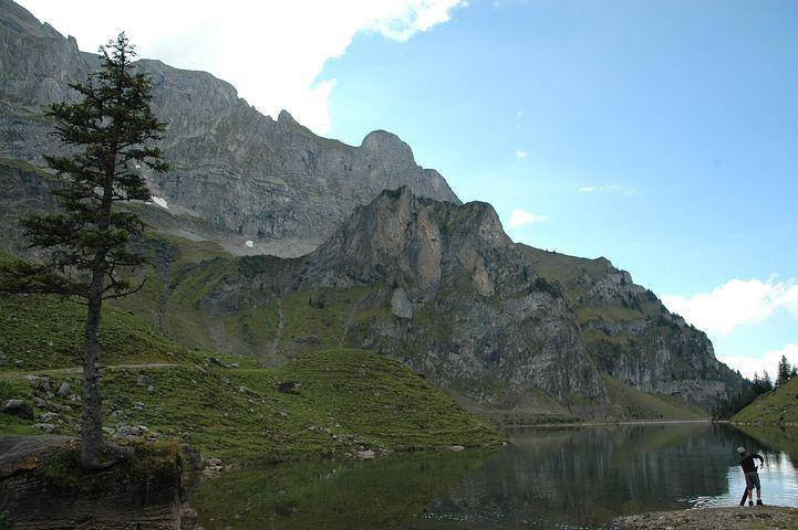 Bergsee, Bann Alpsee, Mountains, Bannalp, Landscape