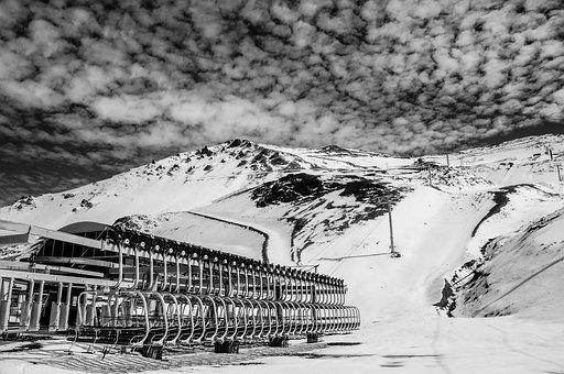 Mount Hutt, New Zealand, South Island, Ski Area