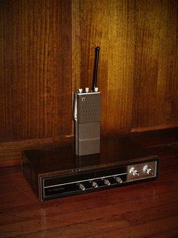 Radio, Old, Vintage, Handy, Old Radio, Receptor