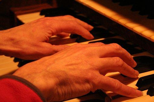 Church Organ, Organ, Pipe Organ, Keyboard, Keys, Church