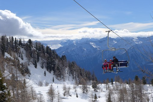 Pejo, Skiing, Chairlift, Trentino, Val Di Sole