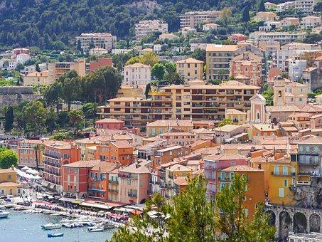 Coastal Village, Mediterranean, Picturesque, Port