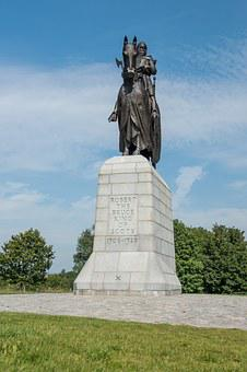 Robert The Bruce King Of Scots, Statue, Scotland