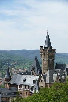Concluded Wernigerode, Tower, Castle Tower, Dome, Roof