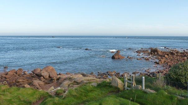 View To The Sea, Beach, Sea embankment