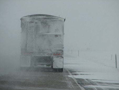 Driving, Storm, Conditions, Weather, Winter, Snow