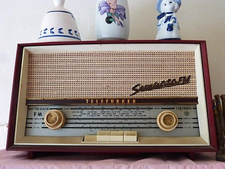 Radio, Old, Vintage, Receptor, Telefunken