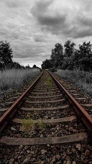 Railway Rails, Train, Gleise, Rail Traffic, Vacations