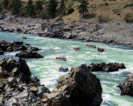 Fraser River, British Columbia, Canada, River Rafting