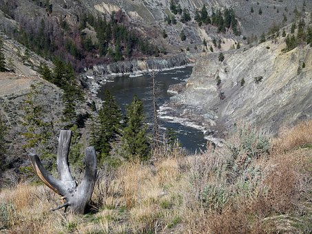 Fraser River, British Columbia, Canada, Near Lillooet