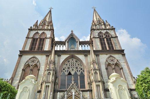 Church, Santa Key, El Salvador, Catholic, Religion