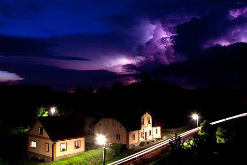 Bolt, Cloud, Danger, Dramatic, Electricity, Energy