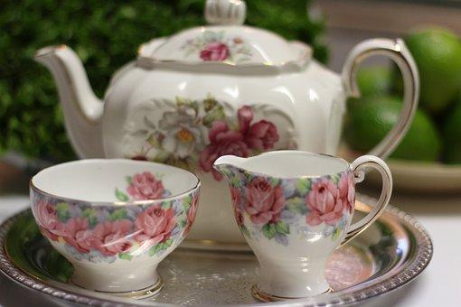 Service, Teacup, Cup, Teapot, Tea Set, Tea-service
