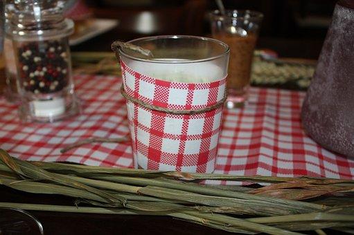 Oktoberfest, Deco, Checkered, Checkered Red, Bavaria