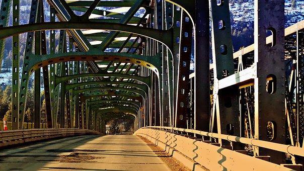 Steel, Bridge, Construction, Engineering