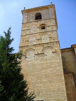 Church, Santa, Eugenia, Astudillo, Palencia