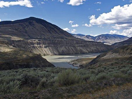 Fraser River, Fraser Plateau, Cariboo, British Columbia