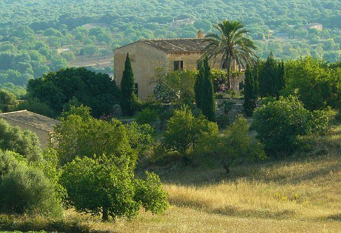 Finca, House, Stone House, Holiday House, Country House